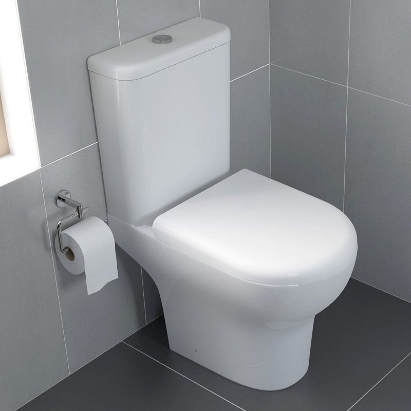 Open Back Close Coupled Toilets