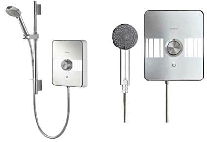 How does and electric shower work