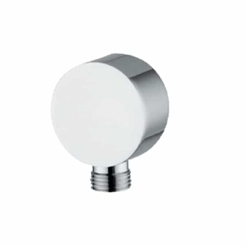 Abode Wall Outlets  Circular Wall Outlet Chrome AB2420