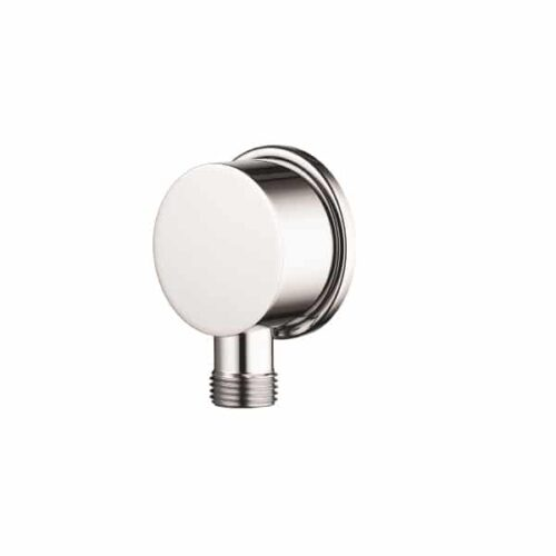 Aqualisa Options Brass Round Shower Wall Outlet - Chrome - OPN7003